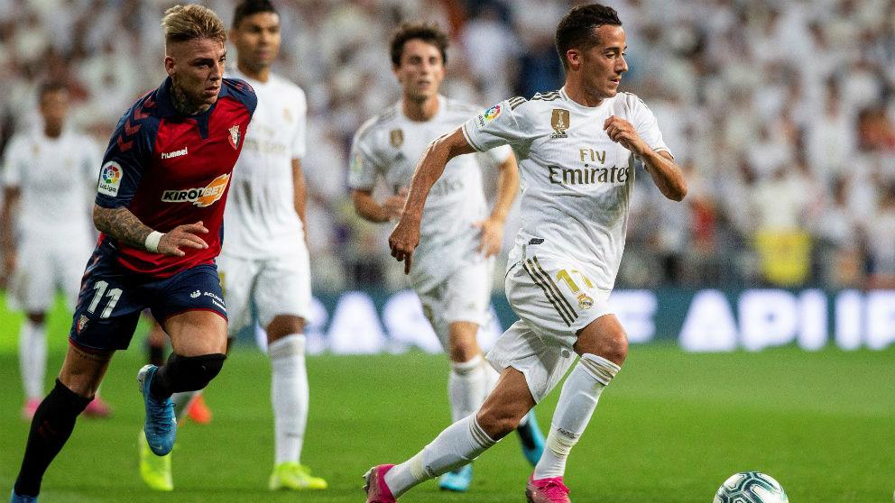 Lucas Vázquez en el Real Madrid – Osasuna.