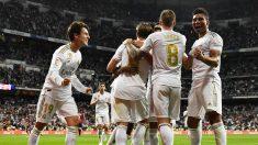 El Real Madrid ya es líder en solitario de la Liga Santander.