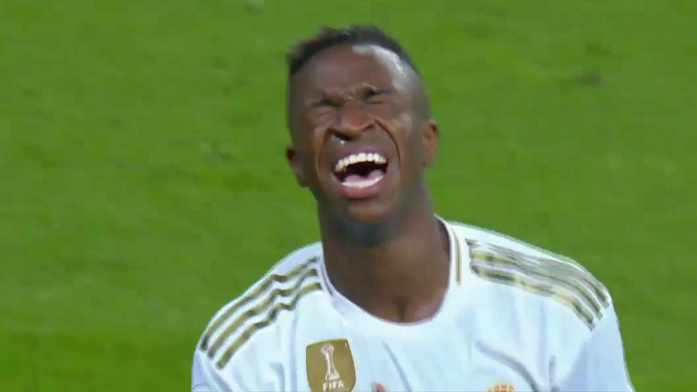 Vinicius rompió a llorar después de su gol en el Real Madrid – Osasuna.