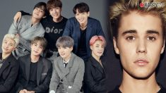 BTS podría colaborar con Justin Bieber