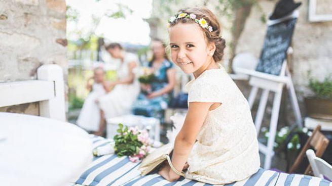 vestir niños para una boda