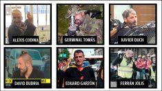 Seis de los siete detenidos de los CDR que preparaban un atentado.