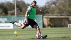 Jesé Rodríguez durante un entrenamiento con el Sporting de Portugal. (jeserodriguez10)