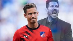 Marcos Llorente está muy decepcionado con el Cholo Simeone.