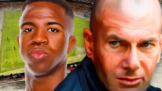 A Vinicius le funcionan las clases particulares con Zidane