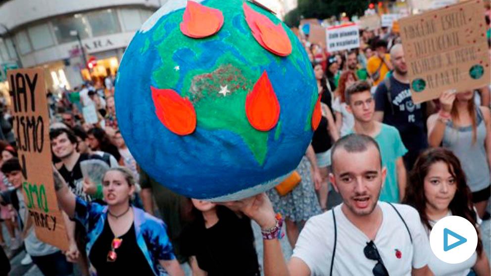 Marcha por el cambio climático en España @EFE