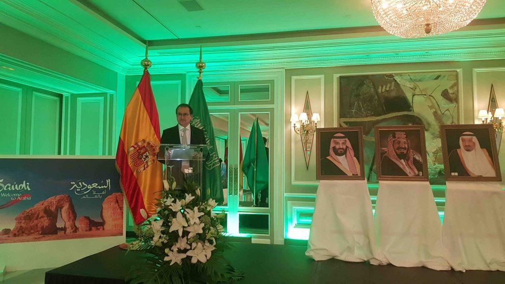 El embajador de Arabia Saudí en España, Mansur bin Jalid al Saud.