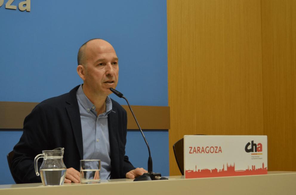 Carmelo Asensio, candidato por Zaragoza de la Chunta que irá con Más País @Twitter
