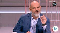 El diputado de Vox Víctor Sánchez del Real en TVE