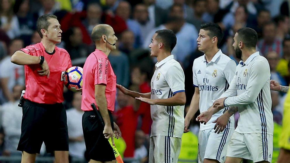 González González, en un partido del Real Madrid. (Getty)