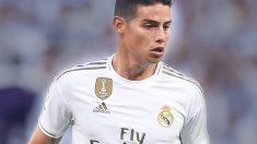 James Rodríguez será titular en el Real Madrid y pudo haber sido jugador del Atlético.