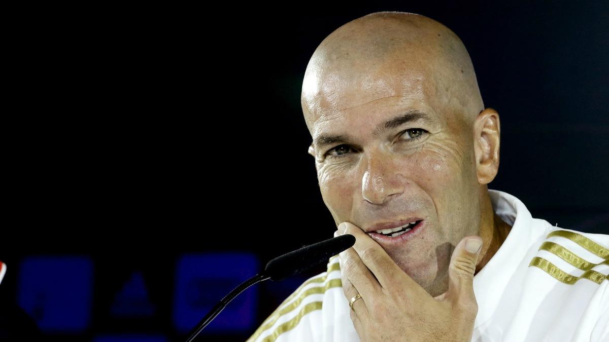 Zidane: «¿El Atlético es el equipo del pueblo? Aquí la gente también madruga y trabaja mucho»