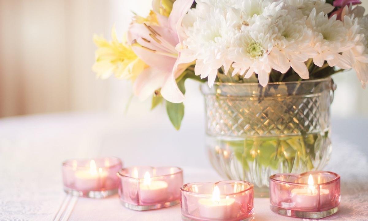 Pasos para hacer centros de mesa para boda fáciles