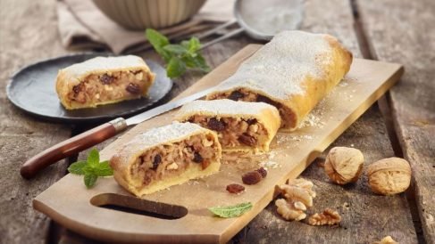 El strudel es una de las principales delicias alemanas
