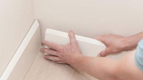Cómo colocar un zócalo PVC paso a paso