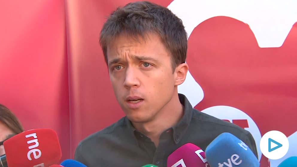 Íñigo Errejón en una reciente imagen.