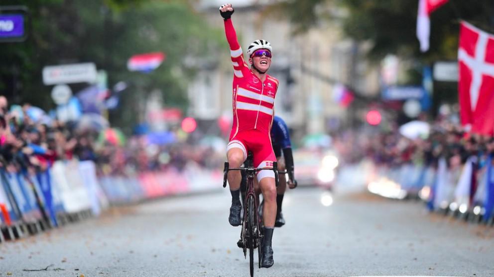 Mads Pedersen, campeón del mundo. (UCI)