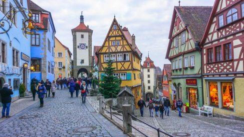 El encanto medieval está muy presente en los pueblos alemanes