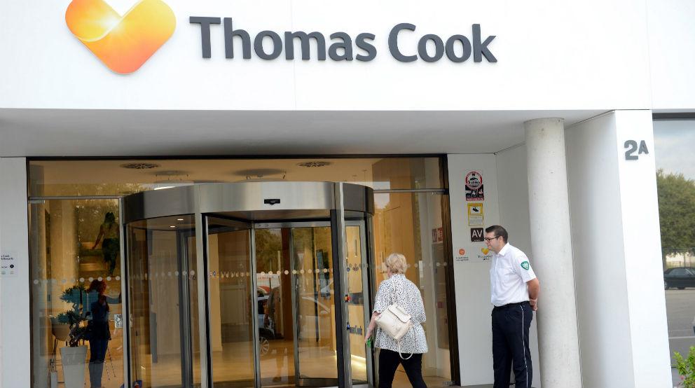 Oficinas de Thomas Cook en Son Valentí (Palma de Mallorca)