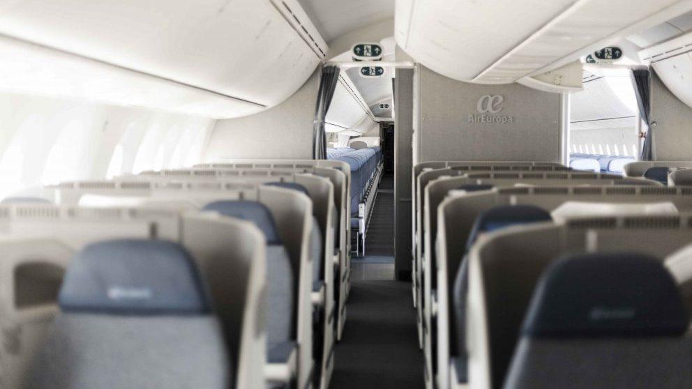 Interior del Dreamliner 787-8 @AirEuropa
