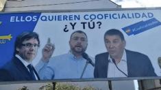 La Plataforma contra la Cooficialidad equipara al socialista Barbón con Otegi y Puigdemont