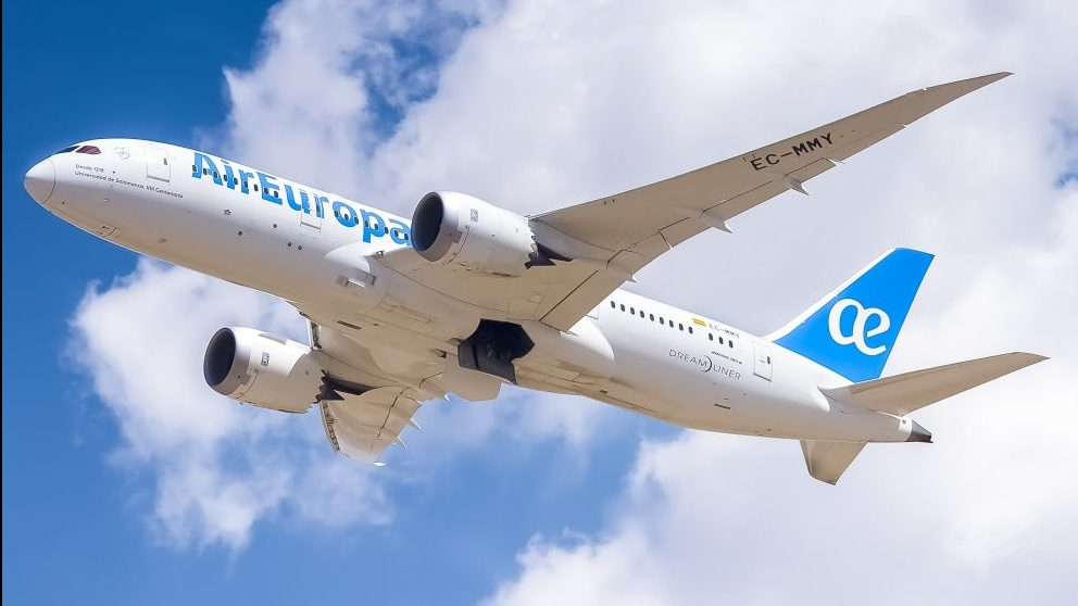 Dreamliner 787-8 @AirEuropa