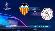 Champions League 2019-2020: Valencia – Ajax | Horario del partido de fútbol de Champions League.