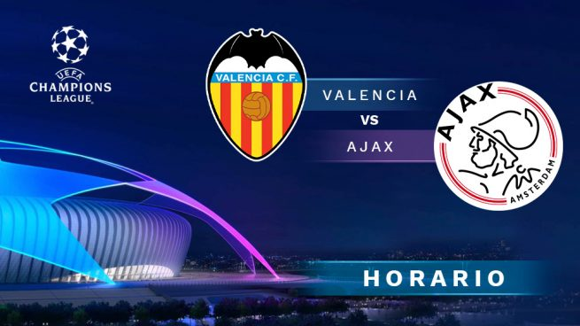 gran selección fotos nuevas cliente primero Valencia - Ajax: hora y dónde ver en directo por TV el ...