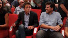 Íñigo Errejón y Pablo Gómez Perpiñá. (Foto. EFE)