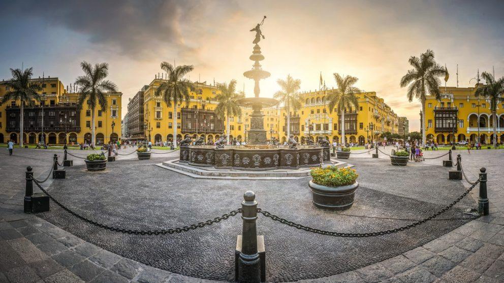 Plaza de las Armas de Lima @Istock