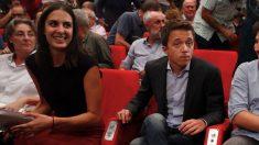 Marta Higueras, Rita Maestre e Íñigo Errejón. (Foto. EFE)