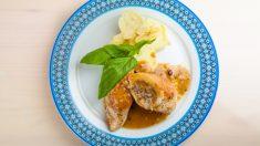 Pechugas de pollo rellenas de setas