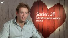 Javier en 'First Dates'