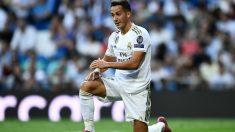 Lucas se fue pitado por el Bernabéu. (AFP)
