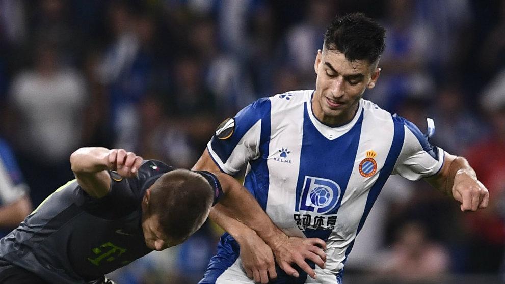 Marc Roca con el Espanyol (AFP)