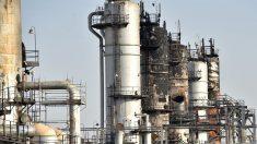 Refinería de Aramco en Arabia Saudí. (Afp)