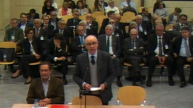 El último alegato de Rato en el juicio de Bankia: «Sólo busqué el interés de los accionistas»