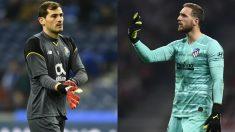 Iker Casillas y Jan Oblak.