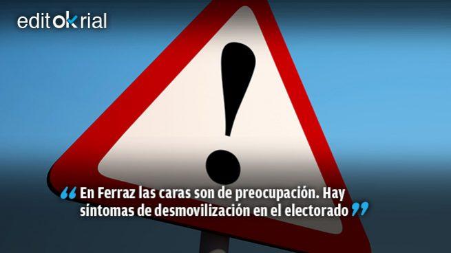 Alerta roja en el PSOE