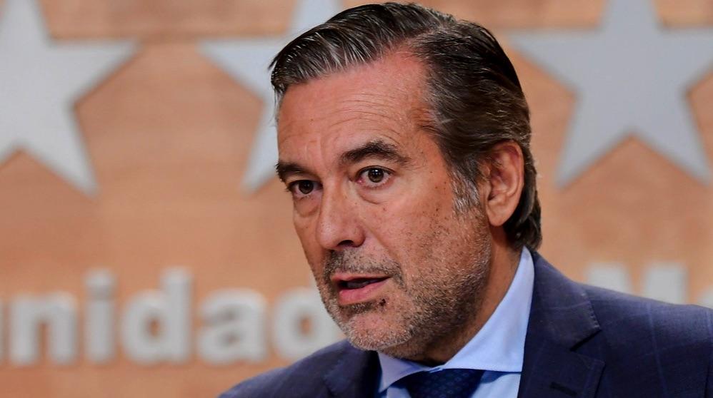 El consejero de Justicia de la Comunidad de Madrid, Enrique López (Foto: CAM).