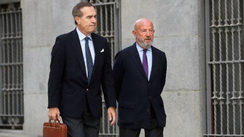 Emilio Saracho, expresidente del Banco Popular, llega a la Audiencia Nacional para declarar