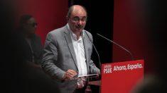 Javier Lambán. (Foto. PSOE)