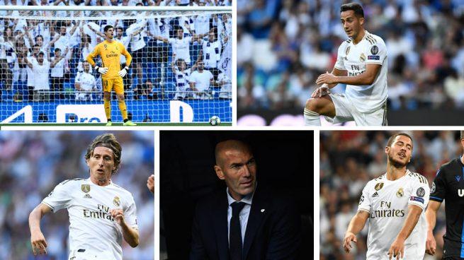 Hazard, Courtois, Lucas Vázquez y Modric, señalados del tropiezo con el Brujas