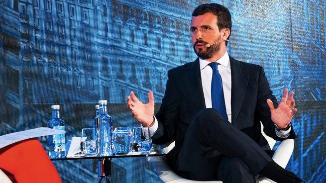 Casado convence a dirigentes del PP europeo de su 'no' a Sánchez para no dejar a Vox como alternativa