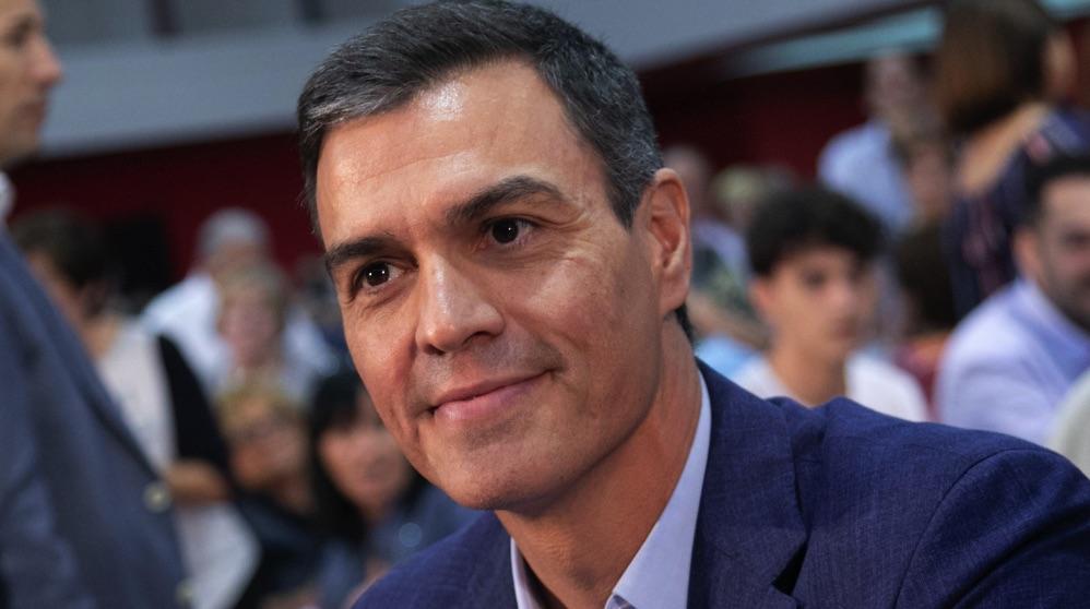 Pedro Sánchez en primer plano. (Foto. PSOE)