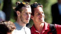 Gareth Bale en el Open de Madrid de golf. (Foto: Alberto Simón)