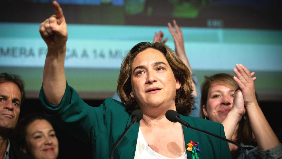 La alcaldesa de Barcelona, Ada Colau. (Foto: Europa Press)
