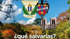 Cartel promocional para el Leganés – Levante (@CDLeganes)