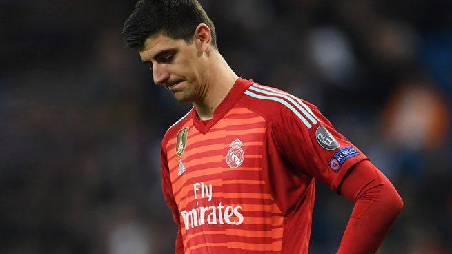 Los servicios médicos del Madrid diagnostican que Courtois sufre ansiedad