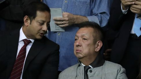 Anil Murthy y Peter Lim. (AFP)